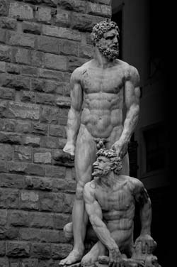 florence piazza statues